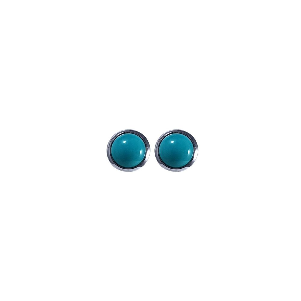 Turquoise Ear Studs by JUPP