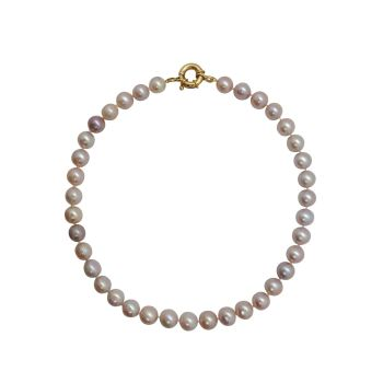 Pink Pearl Necklace by JUPP