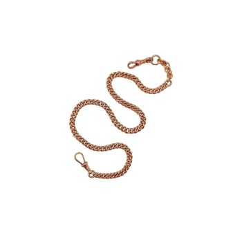 Vintage Rose Gold Watch Chain Necklace