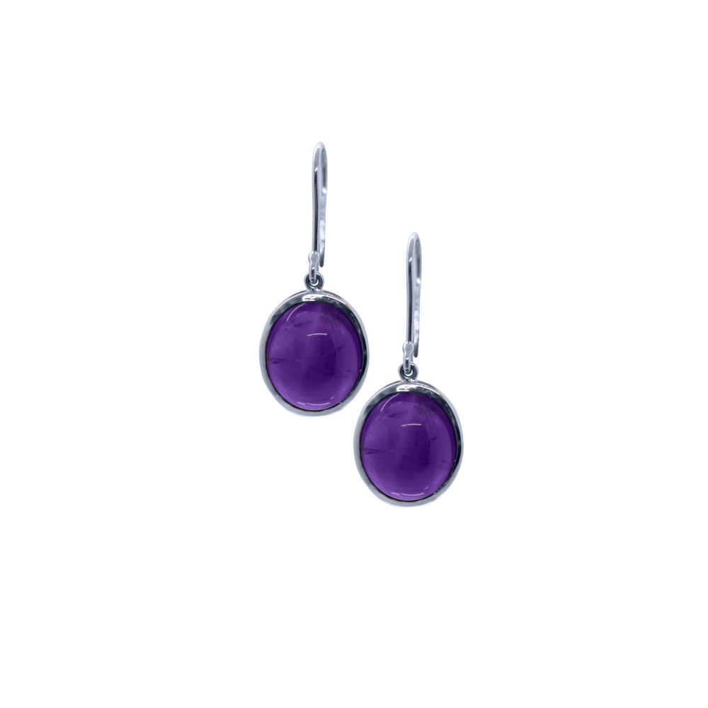 Amethyst Earrings by JUPP