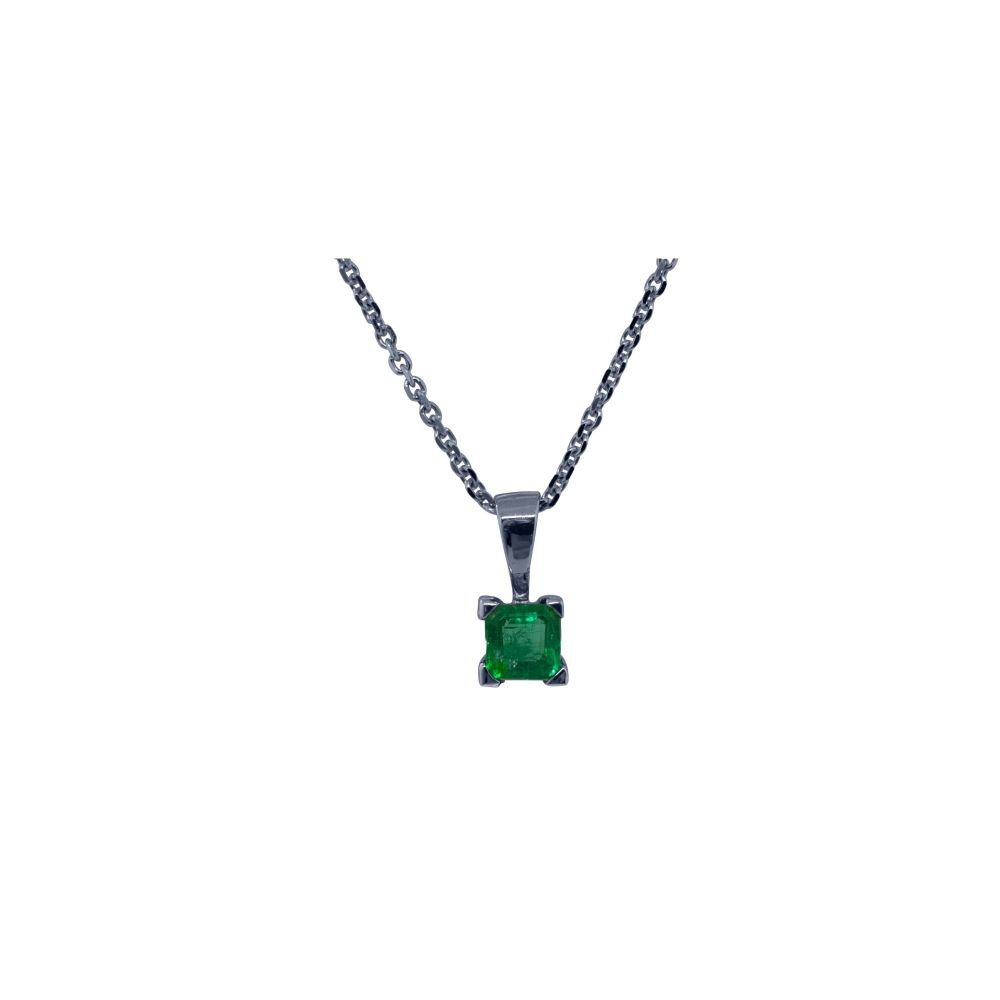 Emerald Pendant by JUPP