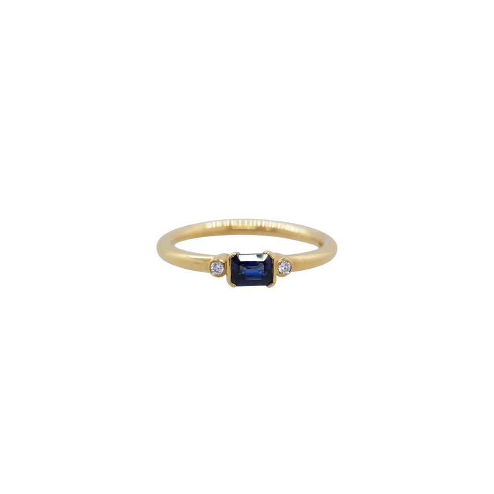 Sapphire and Diamond Ring by JUPP