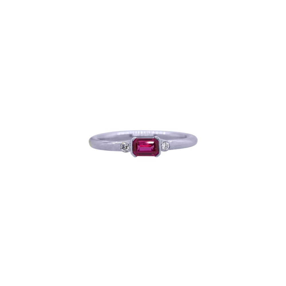 Ruby and Diamond Ring by JUPP