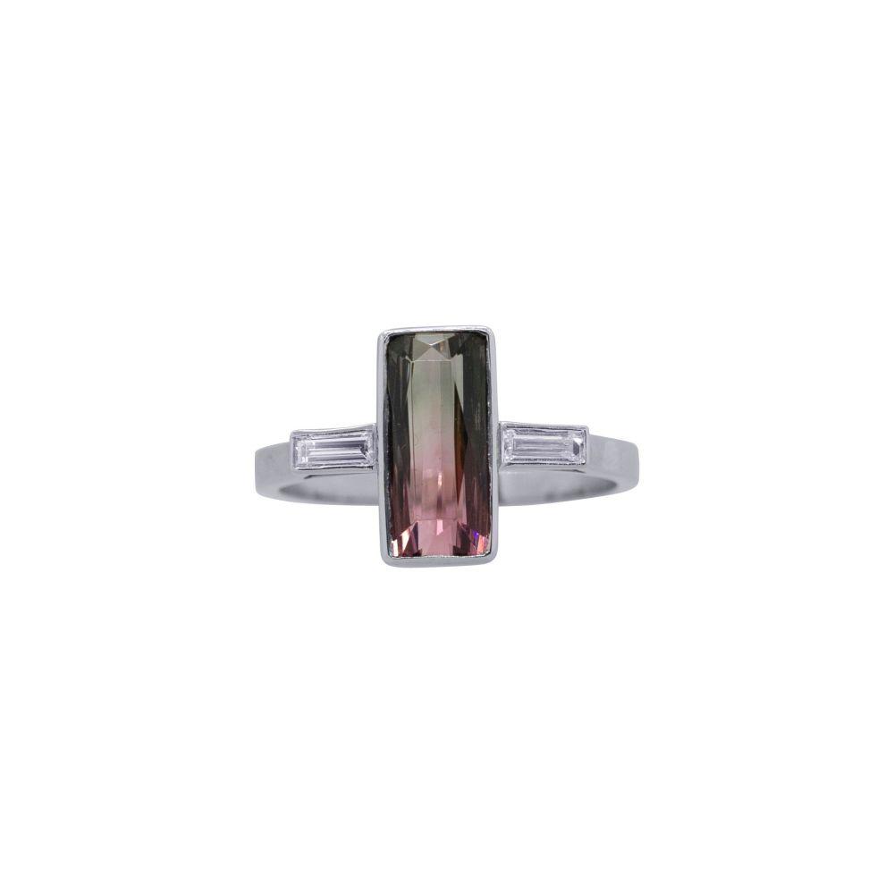 Tourmaline & Diamond Ring by JUPP
