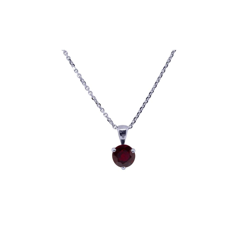Ruby Pendant by JUPP