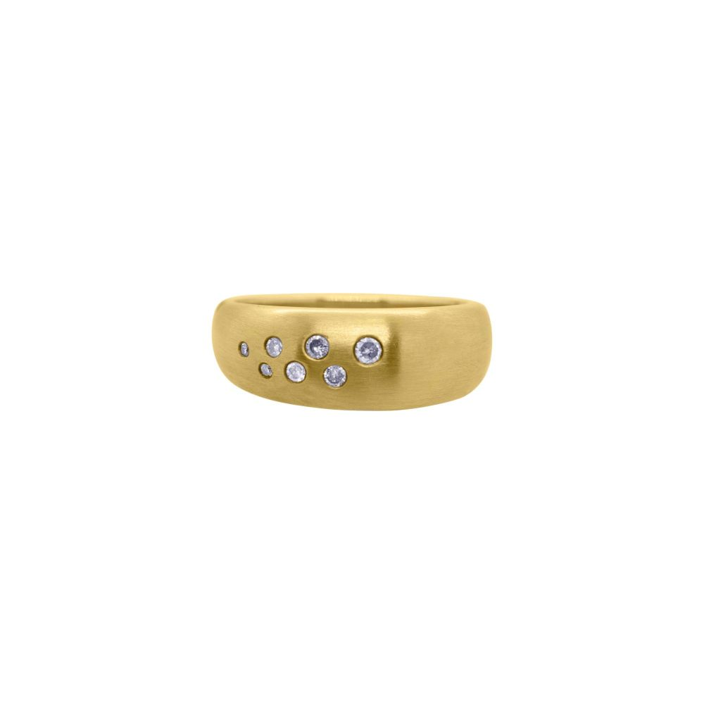 Diamond Scatter Ring by JUPP