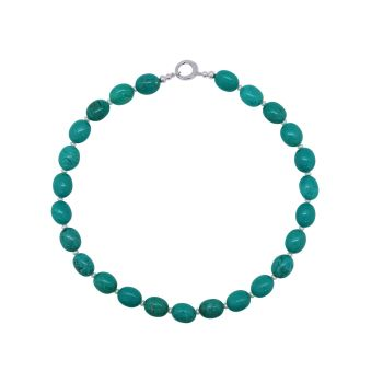 Turquoise & Pearl Necklace by Jupp