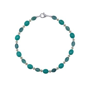 Turquoise & Fluorite Necklace by Jupp