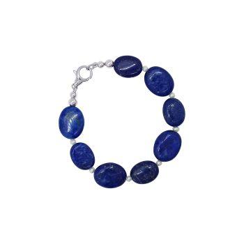 Lapis Lazuli & Pearl Bracelet by Jupp