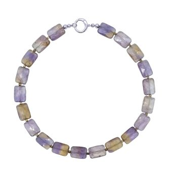 Ametrine & Hematite Necklace by Jupp