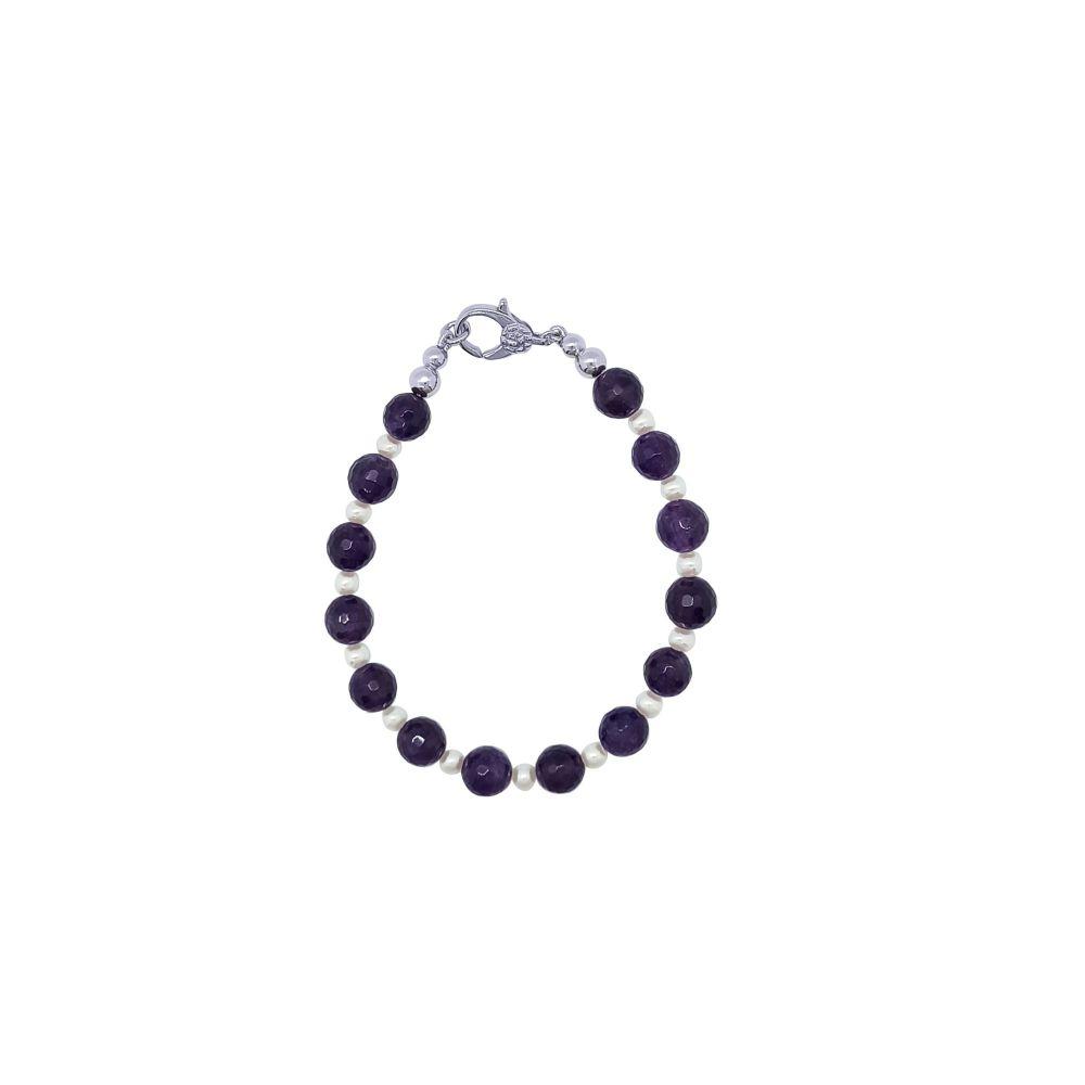Amethyst & Pearl Bracelet by Jupp