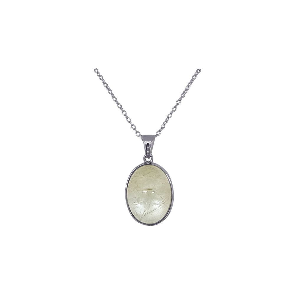 Rutilated Quartz Pendant by Jupp