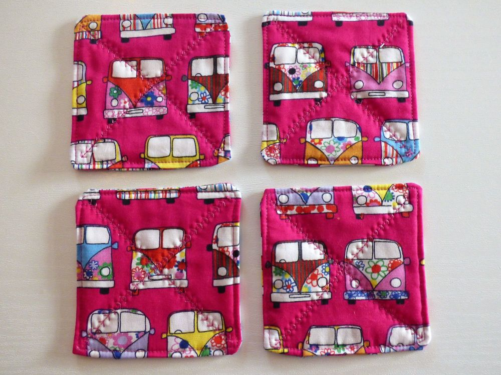 Quilted Cerise Pink