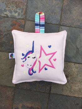 Unicorn Star mini decorative pocket cushions