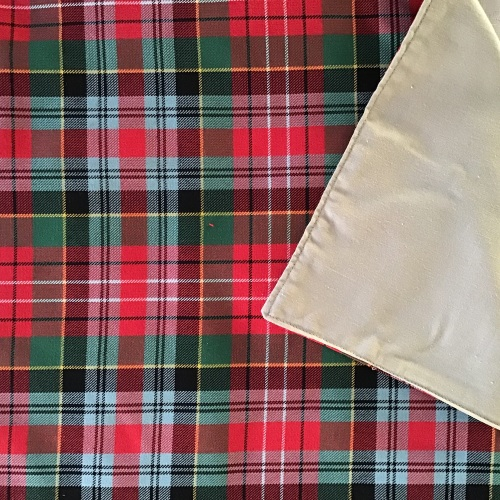Caledonia Tartan Table Runner