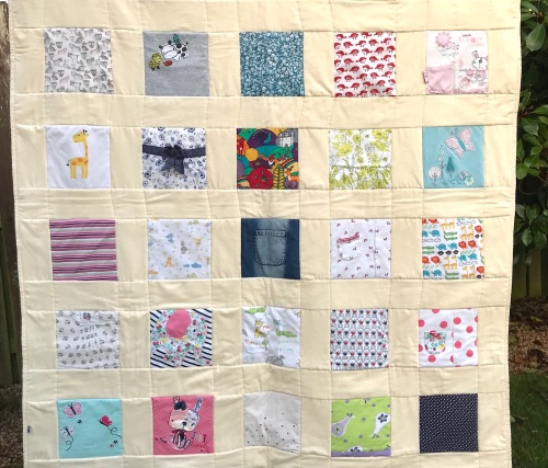 Memory Quilt - finished size 48