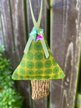 Softly padded Christmas Tree Decoration