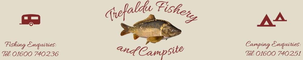 Trefaldu Fishery, site logo.