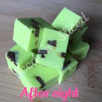 After Eight fudge pieces