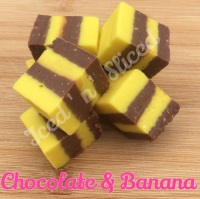 Chocolate & Banana Fudge Pieces