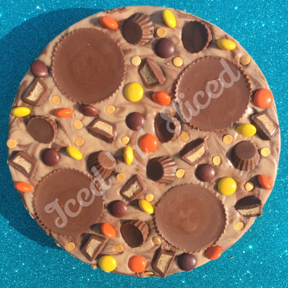 Reeses Fudge Pizza