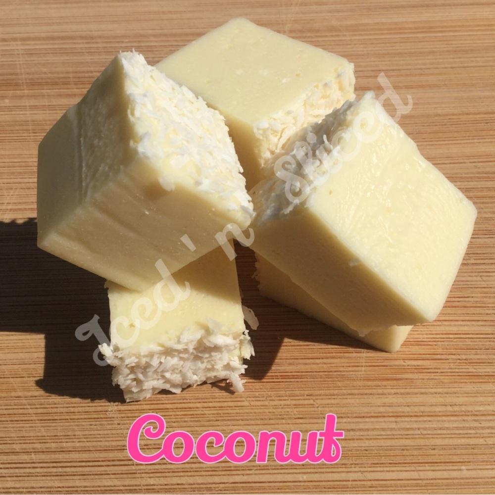 Coconut Fudge Pieces