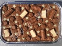 Milky Way Fudge Tray