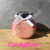 Candyfloss little pot of fudg