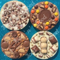 Mini Fudge Pizzas
