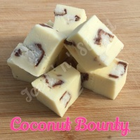 Coconut Bounty fudge pieces