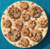 Cookie Lover Fudge Pizza