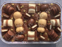 Kinder Krazy Milk Fudge Tray