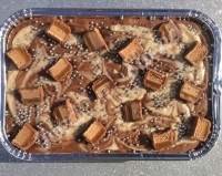 Mars Swirl fudge tray