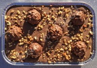 Ferrero Rocher fudge tray
