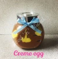 Creme egg little pot of fudge