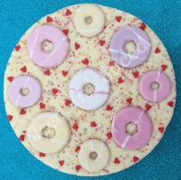 Party Ring Fudge pizza