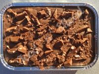 Toblerone fudge tray
