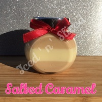 Salted Caramel little pot of fudge