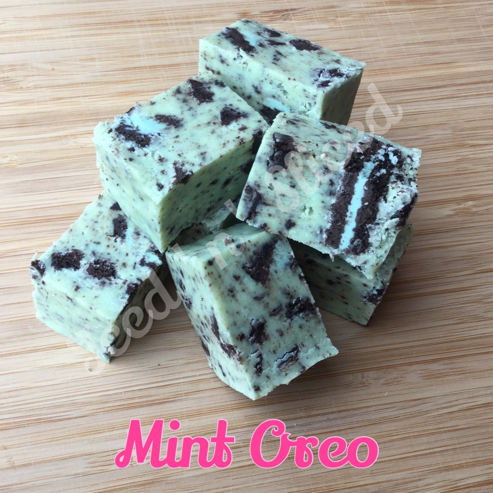 Mint Oreo Fudge Pieces