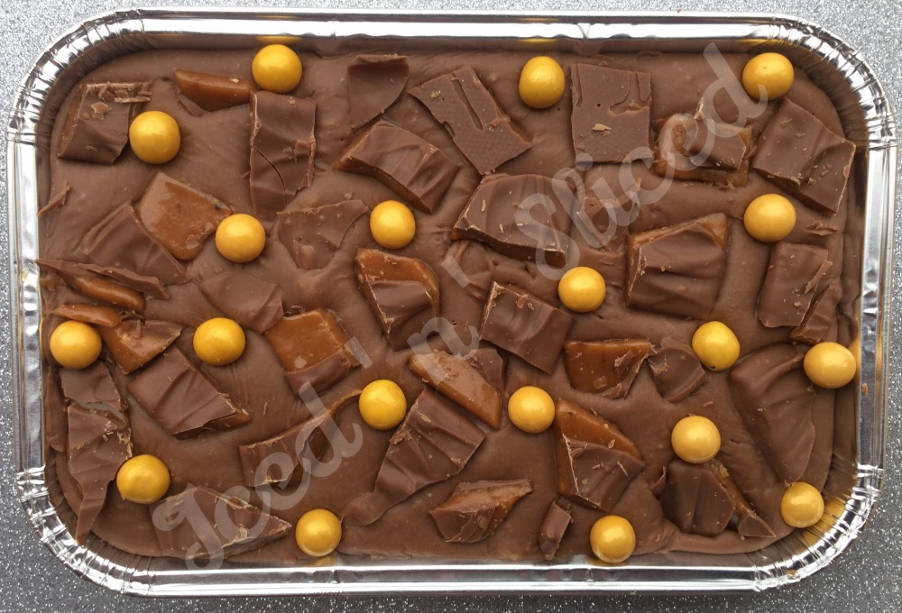 Daim Fudge Tray