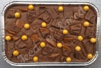 Daim Fudge Tray