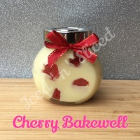 Cherry Bakewell little pot of fudge