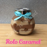 Rolo Caramel little pot of fudge