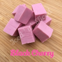 Black Cherry Fudge Pieces
