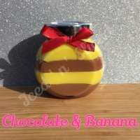 Chocolate & Banana little pot of fudge