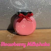 Strawberry Milkshake little pot of fudge