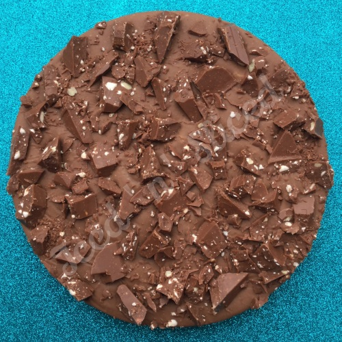 Toblerone Fudge Pizza