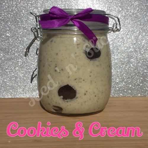 Cookies & Cream giant pot of fudge