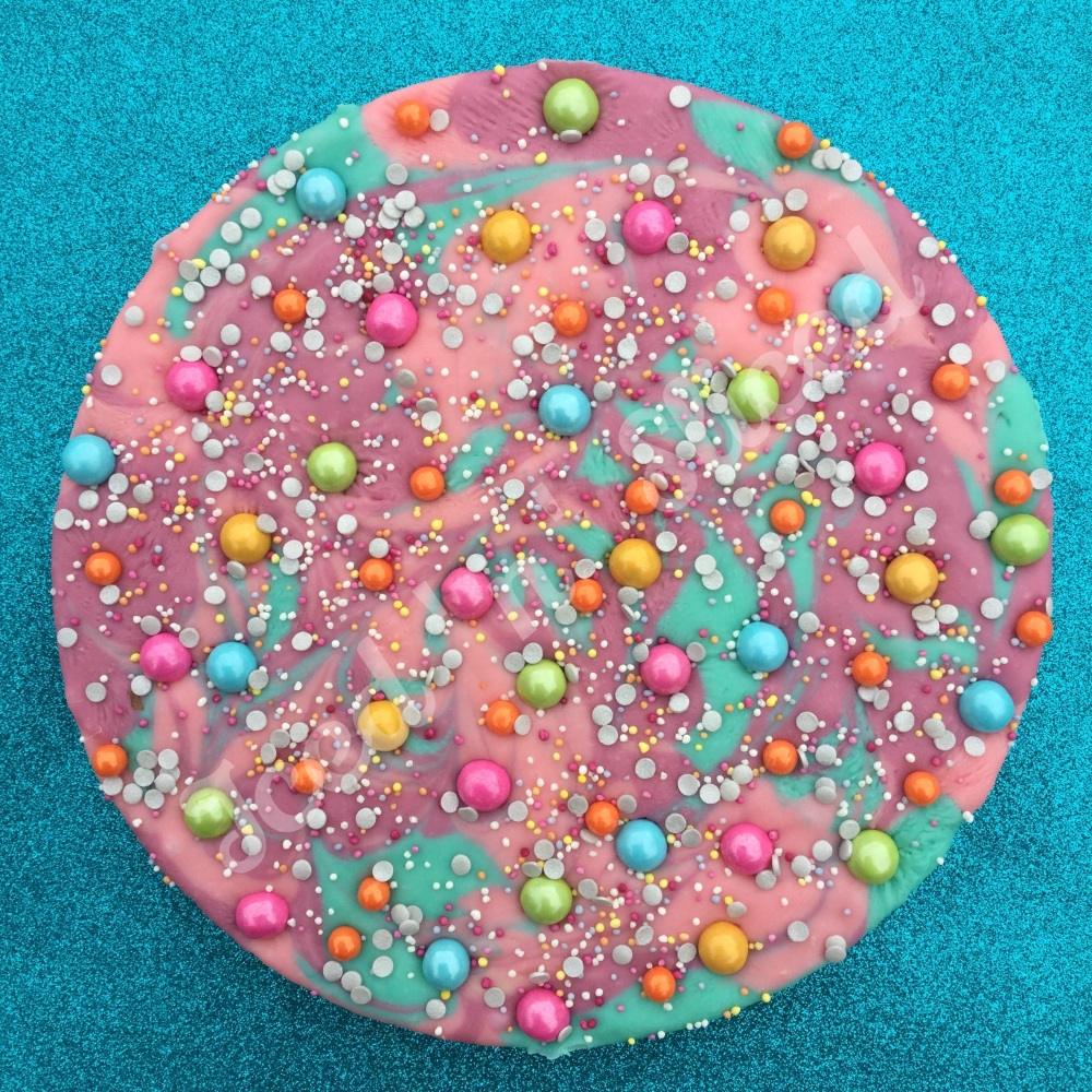 Unicorn Universe Fudge Pizza