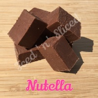 Nutella fudge pieces
